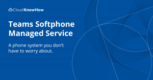 Teams Softphone Managed Service Social